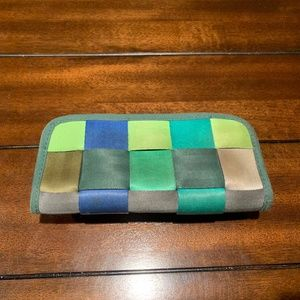 Harveys Seatbelt Bag Clutch Wallet - Mixed Greens